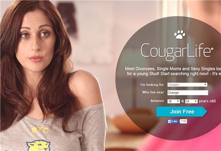 "rjng cougars dating site Google has decided that ads for ""cougar"" dating sites are not family friendly."